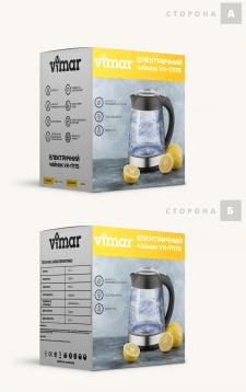 Дизайн упаковок для чайника