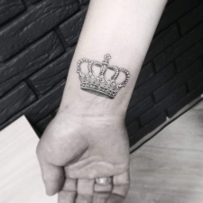 Tattoo crown тату корона