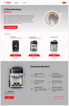 BOSCH Coffe Machine