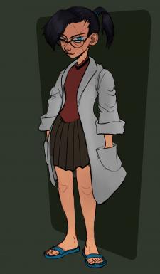 Дизайн персонажа - доктор