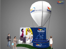 выставочный стенд Sadolin