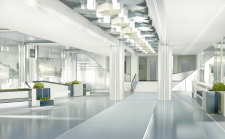 Дизайн интерьера вестибюля института им.Каразина