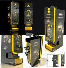 Neskafe display box
