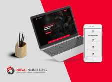 Nova Engineering Company Website & Logo