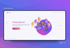 Whale Network website
