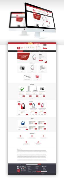 "Дизайн для Интернет-магазин ""LUXEBASS"""