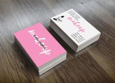 Дизайн визитки - Профессиональный макияж