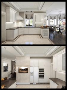 дизайн кухні в класиці