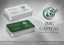 """Фирменный стиль """"JMC Capital"""""""