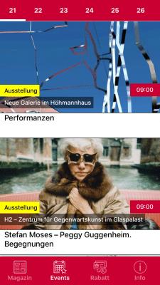 Новостное приложение под обе платформы