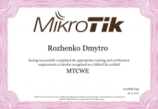 MTCWE (MikroTik Certified WIRELESS ENGINEER)