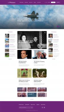 Website redesign Mosaic