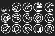 Набор иконок для веб-сайта