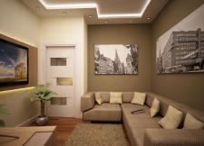 Дизайн интерьера двухяросной квартиры с.Щаслыве.