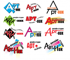 разработка логотипа АРТ НИК