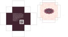 сувенирная коробка шоколадных конфет
