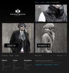 Уникальный сайт на Magento Pennybone