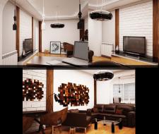 Дизайн и визуализация квартиры 2