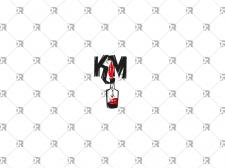 """Логотип для панк-рок группы """"Коктейль Молотова"""""""