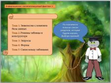 Презентация-обучающая программа