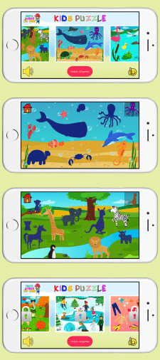 KidsPuzzle - Fun learning game for kids and toddle