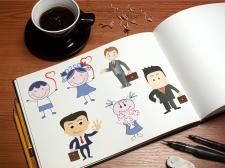 Иллюстрации к сайту и книге