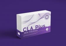 Дизайн упаковки для препарата CLA Plus