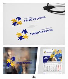 ребрендинг  логотипа Multi Express