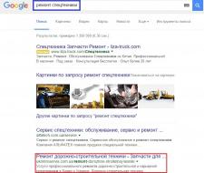 Поисковое продвижение по поисковым запросам
