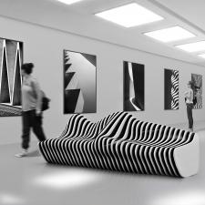 Моделирование и визуализация скамейки