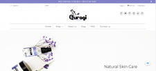 Сайт по косметике (рынок США)