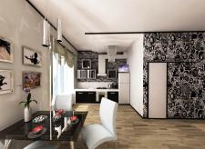 Однокомнатная квартира с перепланирловкой