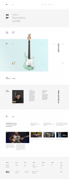 Cort-Guitars Concept, легендарные гитары