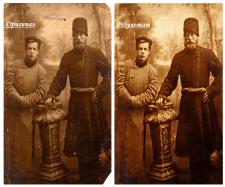 Реставрация старого фото (с повреждениями)