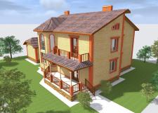 Индивидуальный дом, г. Хмельницкий Лезнево 3