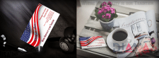 Business card for a USA Inn & Suites