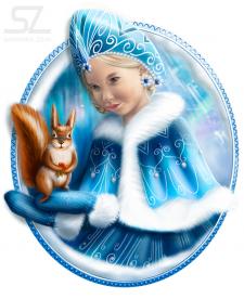 Иллюстрация (портрет с фото)