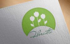 Лого для цветочного магазина