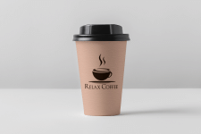 Логотип кофейни Relax Coffee