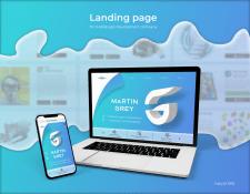 Martin Grey Landing page + внутренние + адаптив