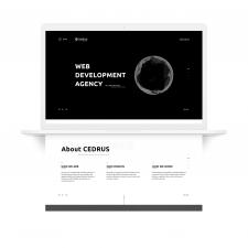 Сайт для Cedrus IT House