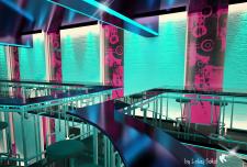 Ночной клуб, эскизное предложение 2 этаж