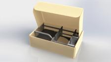 Розробка коробки з картону для упаковки прибору.