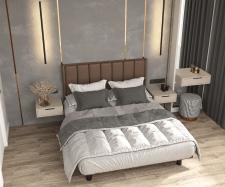 Дизайн-проект Казань 2021 спальня