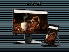 """Сайт """"под ключ"""" для производителя кофе"""