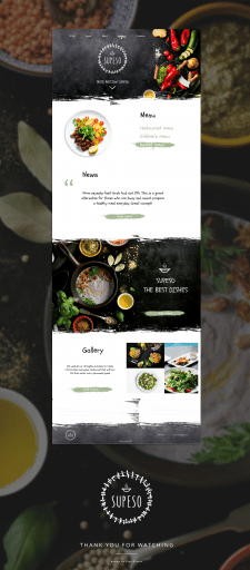 supeso website design