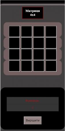 Matrica 4x4