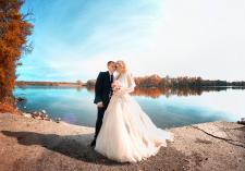 пример свадебной съемки (съемка и обработка)