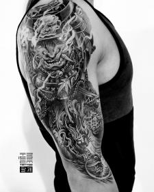 тату дракон tattoo dragon