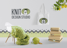 Knit Design Studio Logo&Branding